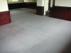 Grauer Teppichboden -Nachher